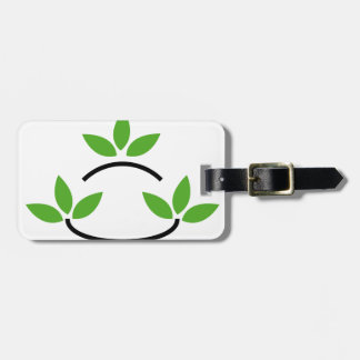 Eco friendly business logo tags for bags