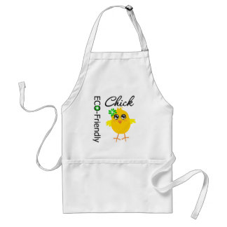 Eco-Friendly Chick Adult Apron