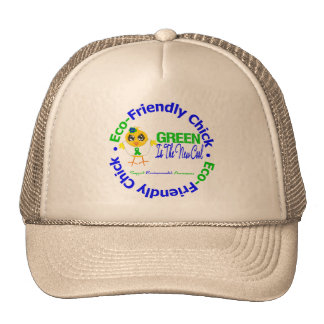 Eco-Friendly Chick Green Is The New Cool Trucker Hat