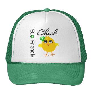 Eco-Friendly Chick Trucker Hat