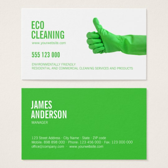 Eco friendly cleaning services business card zazzle eco friendly cleaning services business card colourmoves