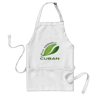 Eco Friendly Cuban. Adult Apron