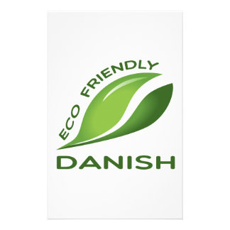 Eco Friendly Danish. Stationery