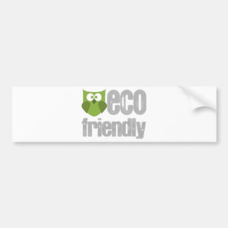 Eco Friendly design! Bumper Stickers