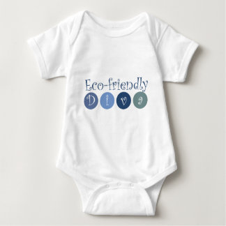 Eco-friendly Diva Baby Bodysuit