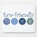 Eco-friendly Diva Mouse Pads
