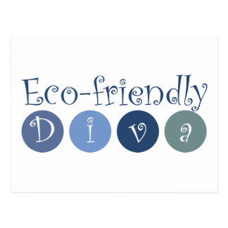 Eco-friendly Diva Post Cards