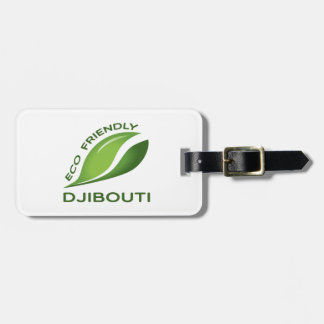 Eco Friendly Djibouti. Bag Tag