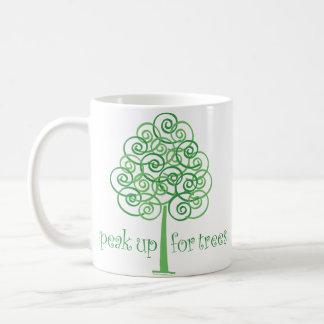 Eco-Friendly, Earth-Friendly, Love Trees Coffee Mug