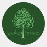 Eco-Friendly, Earth-Friendly, Love Trees Sticker