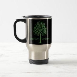 Eco-Friendly, Earth-Friendly, Love Trees Travel Mug