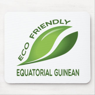 Eco Friendly Equatorial Guinean. Mouse Pad