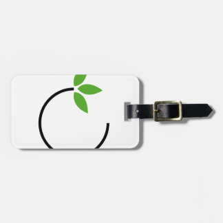 Eco friendly graphic tag for luggage