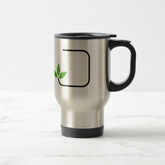 Eco friendly graphic travel mug