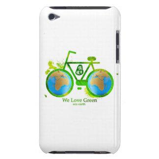 eco-friendly green bike iphone samsung RAZR case