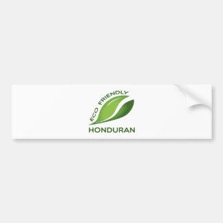 Eco Friendly Honduran. Bumper Sticker