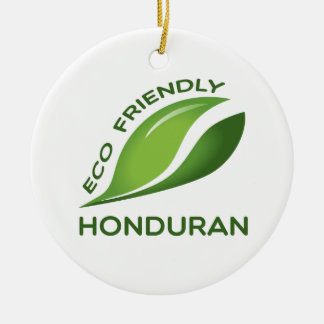 Eco Friendly Honduran. Ceramic Ornament