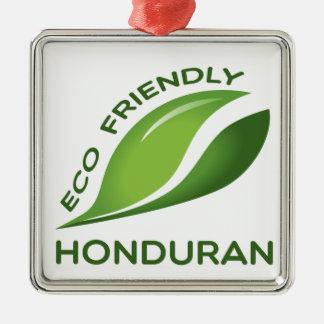 Eco Friendly Honduran. Metal Ornament