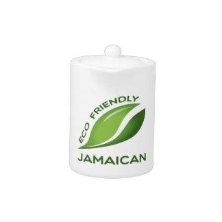 Eco Friendly Jamaican. Teapot