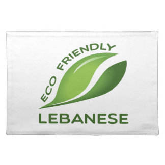 Eco Friendly Lebanese. Cloth Placemat