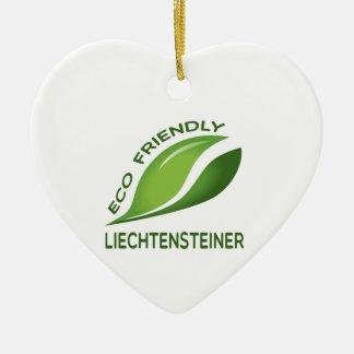 Eco Friendly Liechtensteiner. Ceramic Ornament