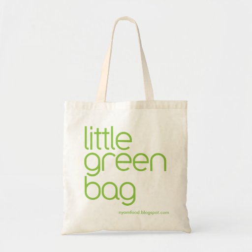 eco friendly - little green bag