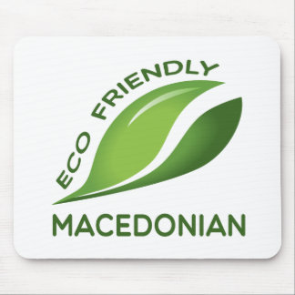 Eco Friendly Macedonian. Mouse Pad