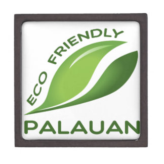 Eco Friendly Palauan. Jewelry Box