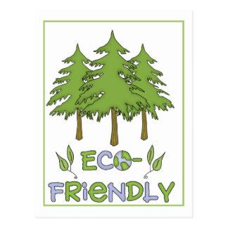 Eco Friendly Postcard