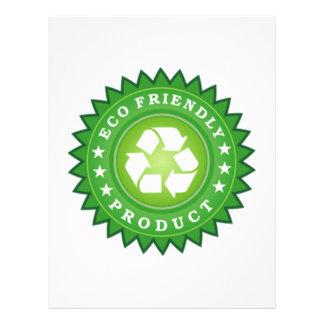 ECO Friendly Product Customized Letterhead