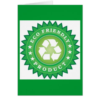 eco-friendly-product greeting card