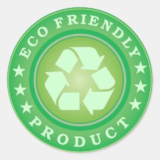 Eco Friendly Product Sticker