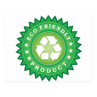 Eco Friendly Product Sticker Postcard