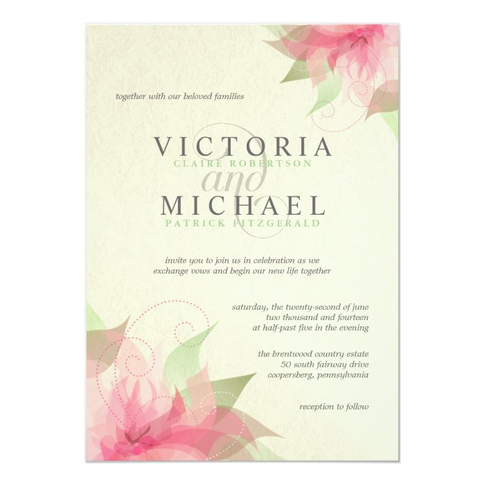 Recycled Wedding Invitations: Eco-Friendly Recycled Paper Wedding Invitations