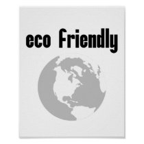 Eco Friendly: Reduce Your Environmental Impact Poster