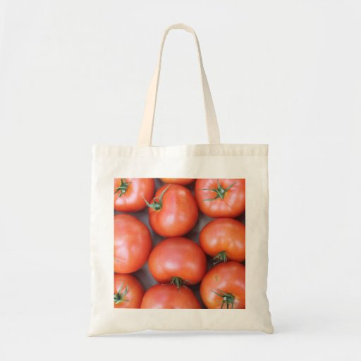 Eco-Friendly Reusable Tomato Tote Bag