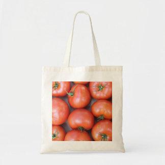 Eco-Friendly Reusable Tomato Budget Tote Bag