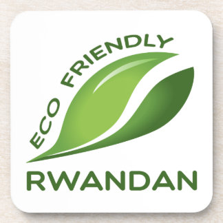 Eco Friendly Rwandan. Beverage Coaster