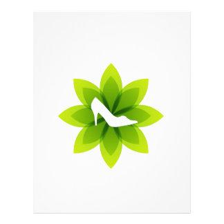 Eco friendly shoes customized letterhead