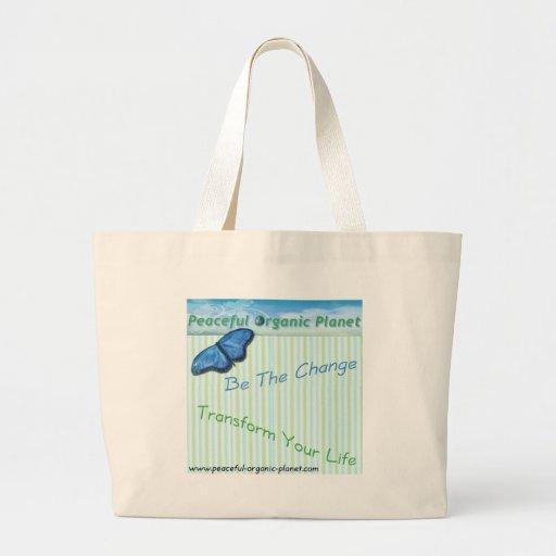 Eco - Friendly Shopping Tote Bag by P.O.P