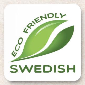 Eco Friendly Swedish. Drink Coaster