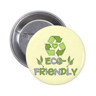 Eco-Friendly T-shirts and Gifts 2 Inch Round Button