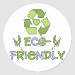 Eco-Friendly T-shirts and Gifts Stickers
