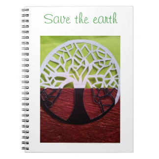eco friendly theme notebook