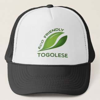Eco Friendly Togolese. Trucker Hat