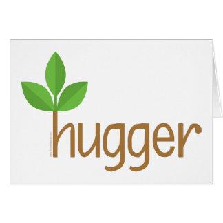 Eco Friendly Tree Hugger Card