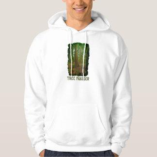 "Eco Friendly ""Tree Hugger"" Enviro Art-lover Hoodie"