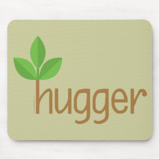 Eco Friendly Tree Hugger Mouse Pad