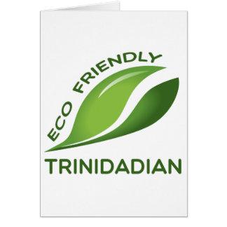 Eco Friendly Trinidadian. Card