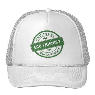 eco friendly trucker hat